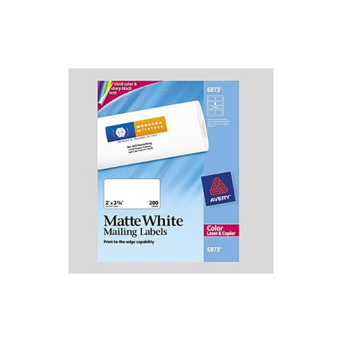 avery white laser labels for color printing - Avery Colored Labels