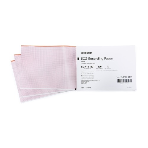 Mckesson ecg recording paper mckesson inch x 183 foot for 183 cm in feet and inches