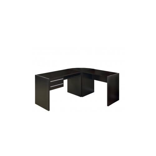Monarch Furniture Cappuccino Hollow Core 48 Quot L Computer
