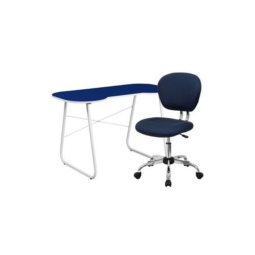 Flash Furniture Computer Desk and Chair Set - FLSNAN11GG
