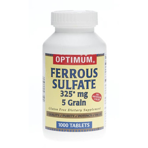 Ferrous sulfate mg